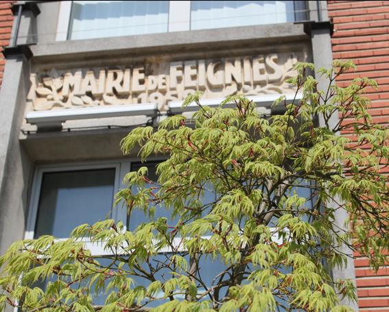 mairie Feignies printemps